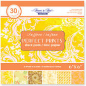 "Perfect Prints - Forever in Time - Saffron - 6 x 6"" Paper Stack - MSP228A"